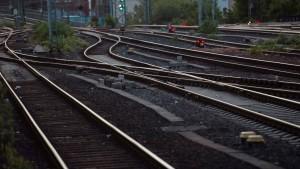 Schienen werden bis Dienstag repariert
