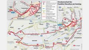 Weltrekordverdächtig - der Marathon