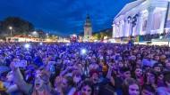 Beim Schlossgrabenfest in Darmstadt soll es mehrere sexuelle Übergriffe auf Frauen gegeben haben, doch nur eine Anklage wird auch tatsächlich erhoben.