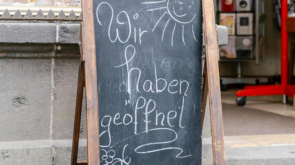Noch geöffnet: ein Geschäft in Alsfeld