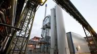 Steht schon in Fechenheim, soll nun auch nach Griesheim: Ein Braunkohlestaubkraftwerk
