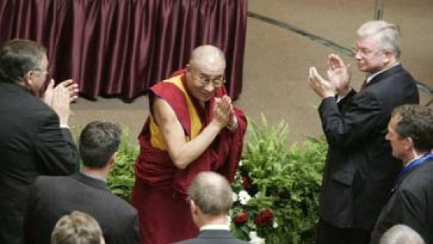 Hessischer Friedenspreis für den XIV. Dalai Lama