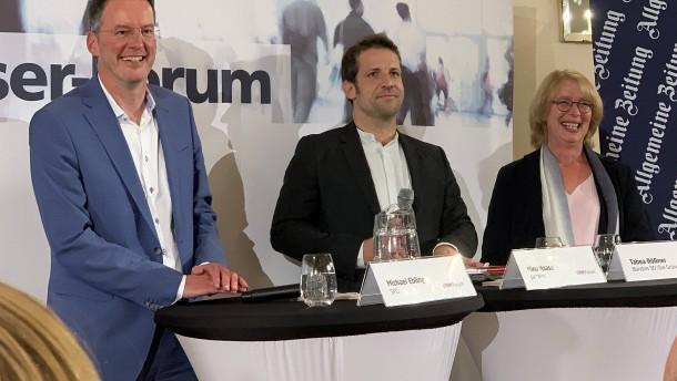 Rathauschef Ebling in Stichwahl gegen Haase