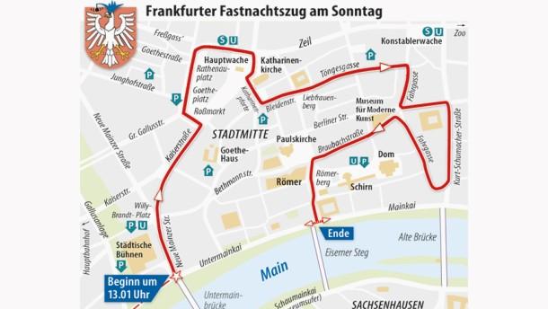 Sperrungen Frankfurt