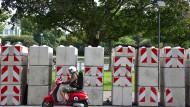 Frankfurt prüft versenkbare Barrieren für Zeil