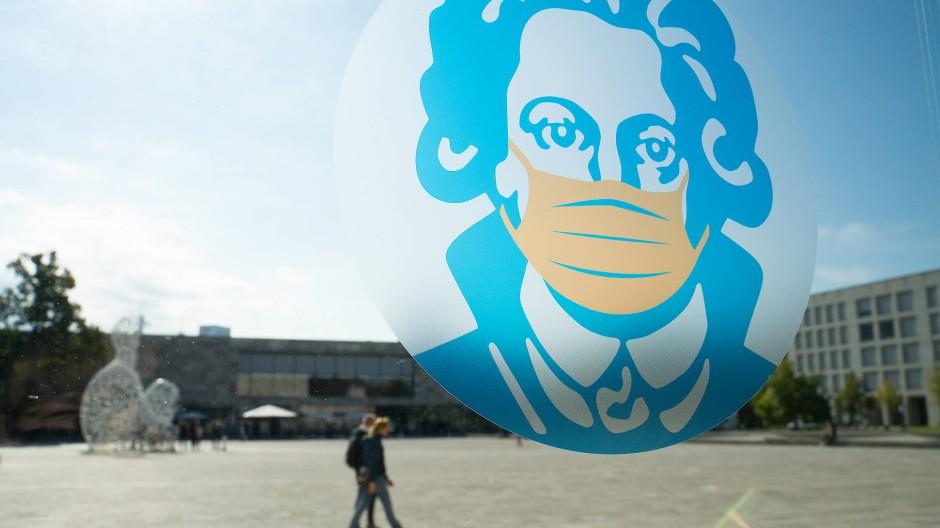 Vorgabe: Die Goethe-Uni begrenzt angesichts der 7000 Anfänger den Zugang für Externe