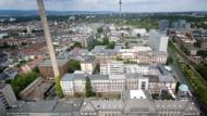 Das Universitätsgelände in Bockenheim soll sich in einen Kulturcampus verwandeln