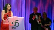 Ausgezeichnet: Iris Berben erhielt den Ehrenpreis
