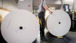 Papierkrise bereitet Buchbranche Sorgen