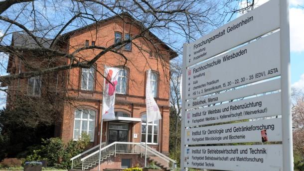 Geisenheim erhält Weihen als neue Hochschule
