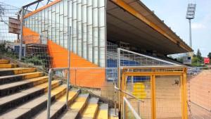 Am Böllenfalltor-Stadion muss es schnell gehen