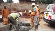 Grundsteinlegung des Jugendzentrums in Nairobi