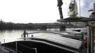 Kohleanlieferung am Westhafen