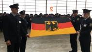 Bundespolizisten legen Diensteid ab