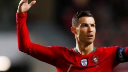 Ein ganz bitterer Abend für Ronaldo