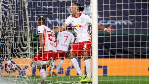 Leipzig und Nagelsmann stürmen ins Halbfinale