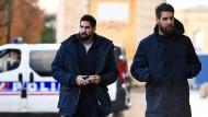 Auf dem Weg zu Gericht: Nikola (l.) und Luka Karabatic (Archivbild vom November 2016)