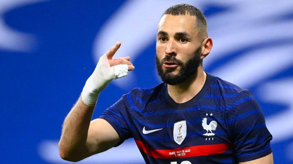 Karim Benzema ist zurück im Team von Weltmeister Frankreich.