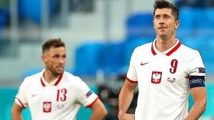Polen und Lewandowski überraschend geschlagen