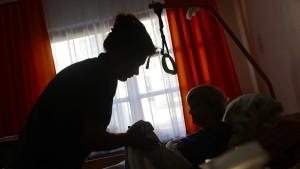 Pfleger sind treu
