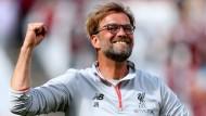 Bei Jürgen Klopp lebt die Hoffnung auf die Champions League weiter.