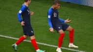 Jüngster französischer WM-Torschütze: Kylian Mbappé führt sein Team zum Sieg