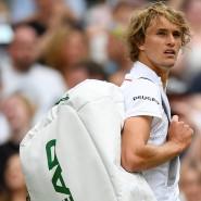 Abschied aus Wimbledon, baldige Ankunft in Hamburg: Alexander Zverev wird wieder am Rothenbaum aufschlagen.