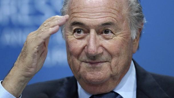 Blatter als Putins Ehrengast