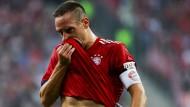Zeigt sich reumütig: Bayerns Franck Ribéry.