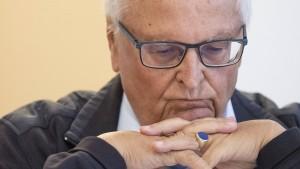 Früherer DFB-Chef Zwanziger reagiert mit Gegenanzeige