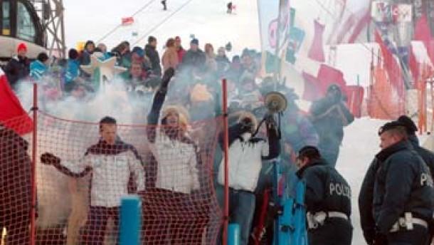 TV-Streik verhindert WM-Riesenslalom