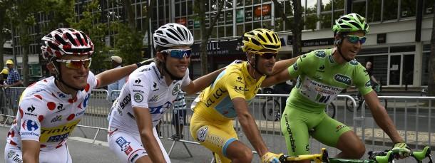 Kompletter Farbensatz: Läuft die Tour de France bald wieder in der ARD?