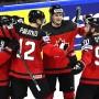 Das Ahornblatt steht im Finale: Kanada besiegt Russland.