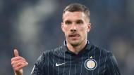 Podolski befolgt den Rat des Bundestrainers
