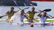 Die deutschen Kanuten holten in Rio sieben Medaillen