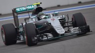 Schon wieder vorneweg: Nico Rosberg