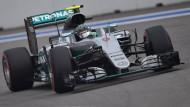 Rosberg vom Glück verfolgt