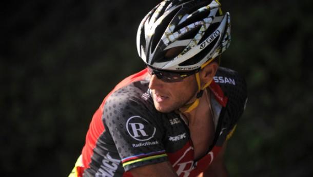 Armstrong fast noch mal Etappensieger