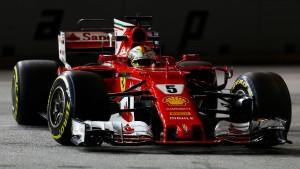 Vettel nur Elfter am Abend