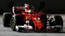 Kein guter Abend für Vettel: Rang elf