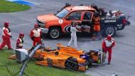 Bitteres Ende für Alonso bei Indy 500