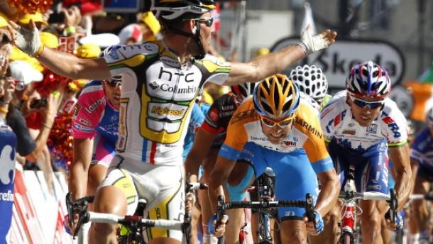 An Cavendish führt kein Sprint vorbei