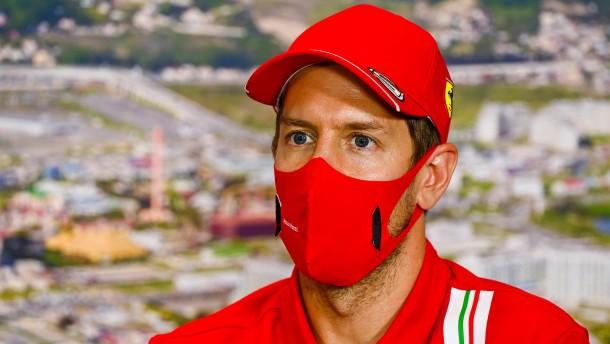 Sebastian Vettel kann nur hoffen