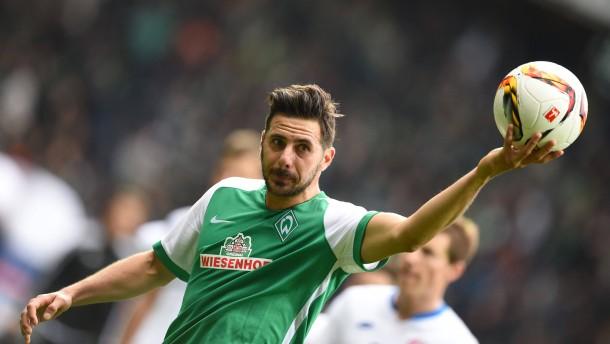 Auf Pizarro kann sich Werder verlassen