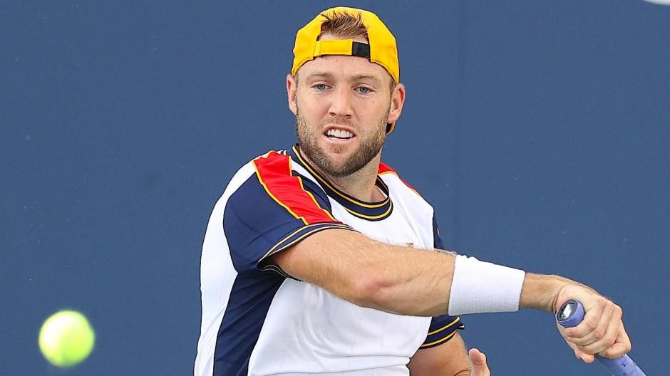 Jack Sock im Zweitrundenmatch bei den US Open.