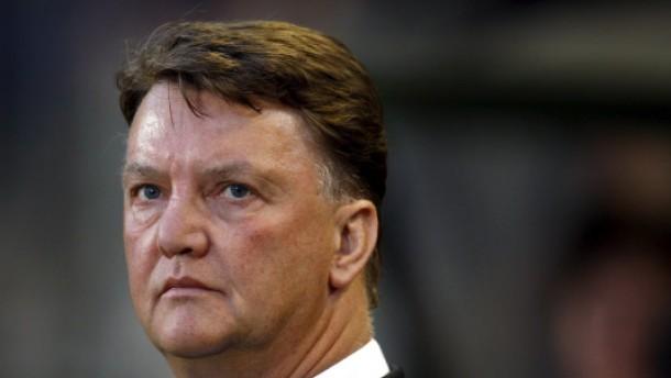 Louis van Gaal wird Trainer bei Bayern München