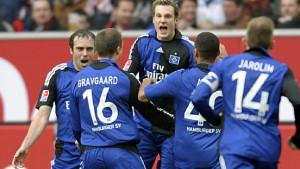 Hamburg erobert mit 2:1-Sieg bei Bayer Platz eins