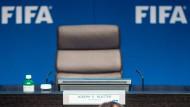 Fifa sagt Pressekonferenz mit Blatter kurzfristig ab