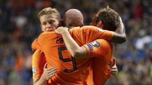 Holland und Belgien im Gleichschritt