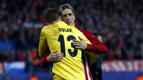 Atlético Madrid folgt City ins Viertelfinale